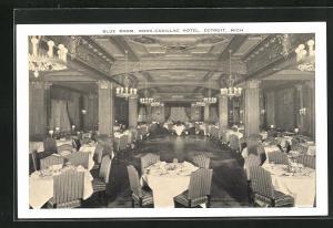 AK Detroit, MI, Book-Cadillac Hotel, Blue Room