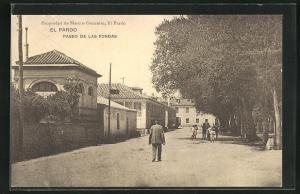 AK El Pardo, Paseo de las Fondas