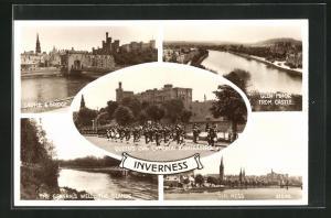 AK Inverness, Fünf Ansichten der Stadt