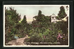 AK Liverpool, Old English Garden, Greenbank Park