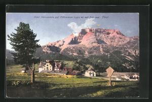 AK Dürrenstein, Hotel auf Plätzwiesen mit Rotwand