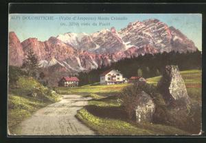 AK Valle d` Ampezzo, Monte Cristallo visto da Pocòl