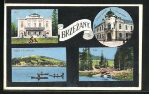 AK Brzezany, Rai, Staw i Stozysko, Urzad poczt i telegrafow