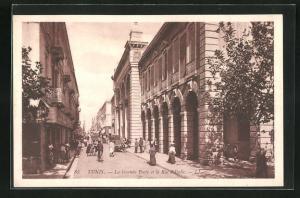 AK Tunis, La grande Porte et la Rue d`Italie