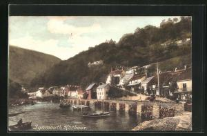AK Lynmouth, Harbour, Hafenpartie