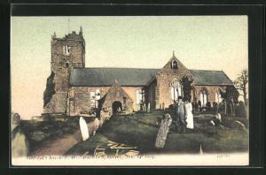 AK Godshill, Church, Kirche