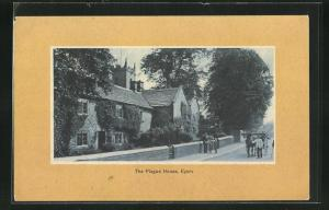 AK Eyam, The plaque house