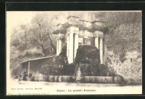 AK Digne, La grande Fontaine