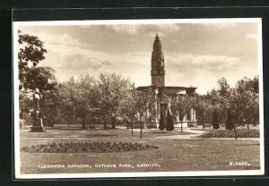 AK Cardiff, Alexandra gardens, Cathays park