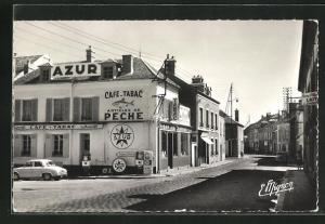 AK Montereau, Faubourg Saint-Maurice, Strassenpartie