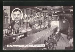 AK Cicero, IL, Klas` Restaurant, vivew inside