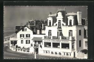 AK Villers-sur-Mer, Hotel Beau-Rivage et la Bonne Auberge