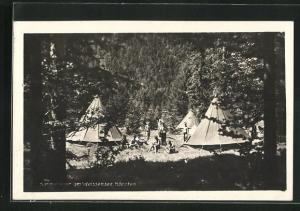 AK Weissensee, Sommerlager am See