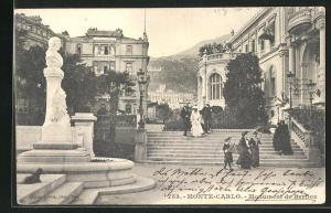 AK Monte Carlo, Monument de Berlioz