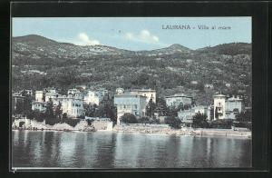 AK Laurana, Ville al Mare