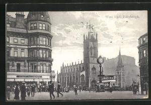 AK Edinburgh, Shops and Church in West End