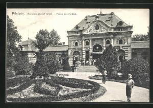 AK Pöstyen, Ferencz Jozsef fürdö, Franz Josefs-Bad
