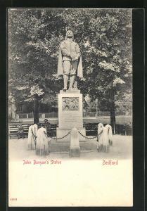 AK Bedford, John Bunyan`s Statue