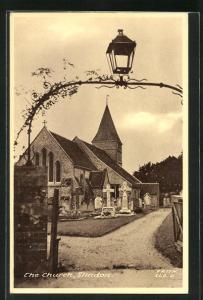 AK Slindon, View on the Church