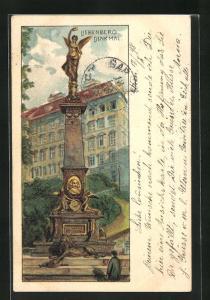 Lithographie Wien, Am Liebenbergdenkmal