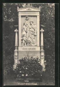 AK Wien, Schubert-Grabdenkmal