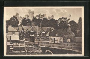 AK Arundel, Castle from Bridge