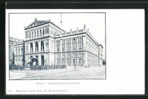 AK Wien, Musikvereins-Gebäude