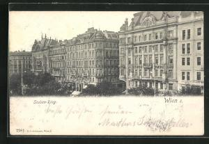 AK Wien, Häuser am Stuben-Ring