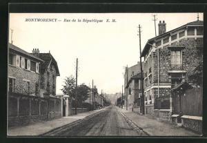 AK Montmorency, Rue de la République