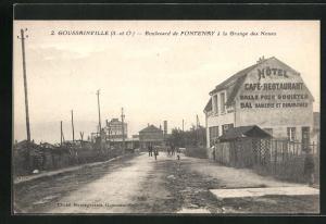 AK Goussainville, Boulevard de Fontenay à la Grange des Noues