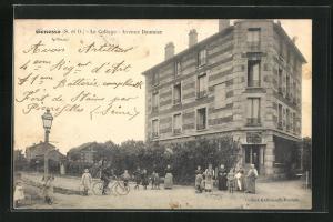 AK Gonesse, Le Cottage, Avenue Daumier