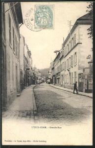 AK L` Isle Adam, Grande Rue