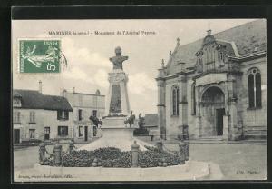 AK Marines, Monument de l` Amiral Peyron