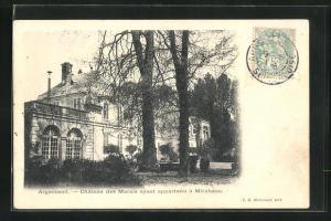 AK Argenteuil, Château des Marais ayant appartenu à Mirabeau