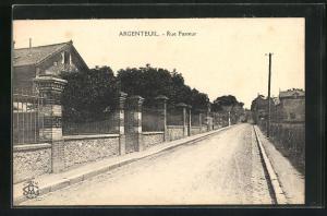 AK Argenteuil, Rue Pasteur