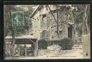 AK Argenteuil, Les Grottes d` Orgemont