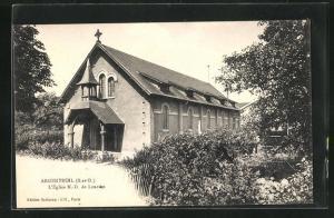 AK Argenteuil, L` Église N.-D. de Lourdes
