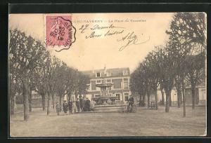 AK St-Leu-Taverny, La Place de Vaucelles