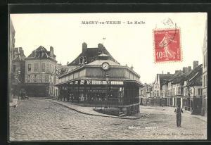 AK Magny-en-Vexin, La Halle