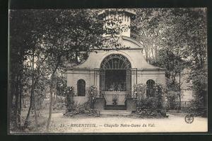 AK Argenteuil, Chapelle Notre-Dame du Val