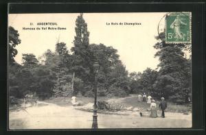 AK Argenteuil, Hameau du Val Notre-Dame, Le Bois de Champioux