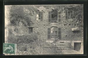 AK Argenteuil, Ferme de la Grotte du Trou-a-Sable, Rue du Moulin d`Orgemont
