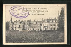 AK Paris, Sanatorium de Aide & Protection, 23, Rue Tiphaine
