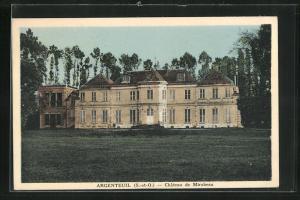 AK Argenteuil, Chateau de Mirabeau