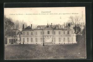 AK Argenteuil, Chateau du Marais, Ancienne demeure des Prieurs de Saint-Denis, qui a appartenu a Mirabeau