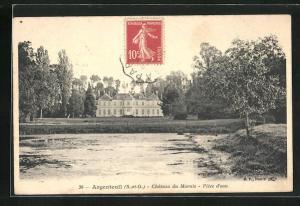 AK Argenteuil, Chateau du Marais, Piece d`eau