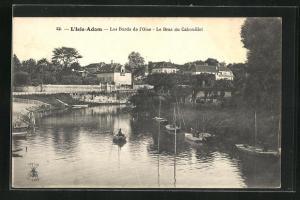 AK L`Isle-Adam, Les Bords de l`Oise, Le Bras du Cabouillet