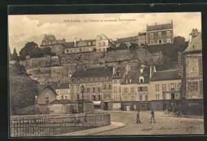 AK Pontoise, Le Chateau et anciennes Fortifications