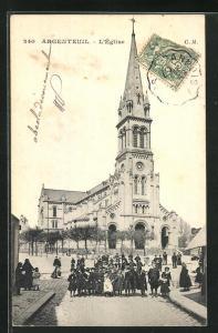 AK Argenteuil, L`Église