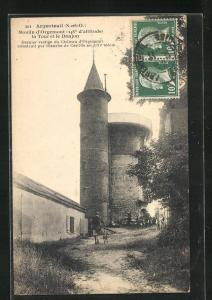 AK Argenteuil, Moulin d`Orgement, la Tour et le Donjon